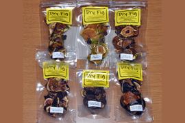 無農薬国産ドライイチジク ミディアムパック  5種(ドーフィン+お任せ希少4種)セット