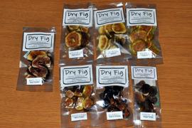無農薬国産ドライイチジク スモールパック  5種(ドーフィン+お任せ希少4種)セット