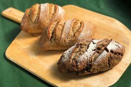 パンセット②:自然栽培小麦のみ使用したドイツ風パンセット2