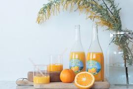 有機柑橘ブレンド100%ジュース(720ml×2本)