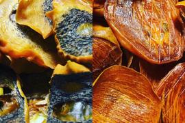【熱海産♨無農薬】無添加ドライ柿チップス 2種食べ比べセット