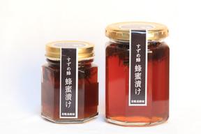 天然はちみつ100%*すずめ蜂蜂蜜漬け300g