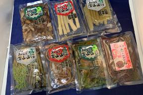 「国産山菜・きのこ7点セット水煮」ミネラル・マイナスイオンの豊富な月山山系の伏流水使用 1袋x7種