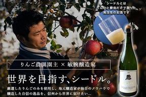 1本入り箱 先行予約【本数限定】りんご生産者×凄腕醸造家が造るひできの高級シードル(ルミエール)
