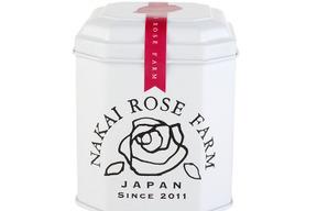 ローズリーフ缶 1.5g×5ティーバッグ (ノンカフェインティー)バラの葉のお茶 NAKAI ROSE FARM ナカイローズファーム