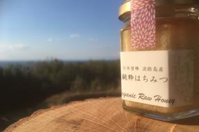 日本蜜蜂の生はちみつ(垂れ蜜、非加熱、淡路島産)