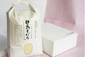 【新米5kg】無農薬米コシヒカリ 【しろうま農場】