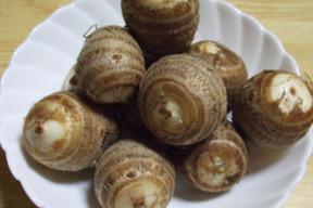 自然農法*ごじ(硬い部分)がひとつもない赤里芋(2kg)販売中。