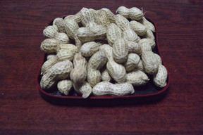 自然農法*甘い天日干し落花生500g10月中旬から販売予定。予約受け付けております。