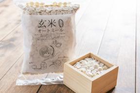 【土と暮らす】の玄米オートミール(3個セット)
