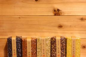 【無農薬・無肥料 自然栽培 天日干し】古代米・雑穀よりどり5個