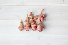 【農薬・肥料不使用・自然栽培】めずらしいフランス種、紅菊芋 約3kg