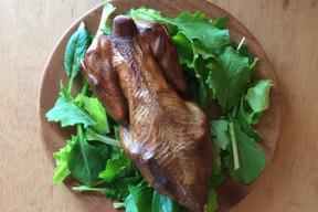 【予約販売】平飼い鶏のスモークチキン