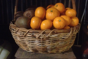 旬の果物セット(キウイ:1kg+温州みかん:5kg)
