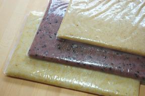 【年末特価!天日干し・無農薬・無肥料】3種類のお餅セット(のし餅5合分×3種類)