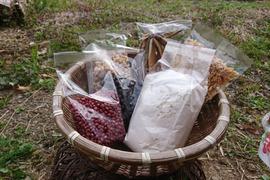 豆類小麦粉と乾物セット