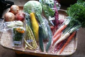 旬の野菜詰め合わせ(5〜7品)