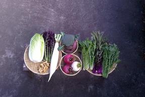 自然栽培野菜Lセット(10~12種類)