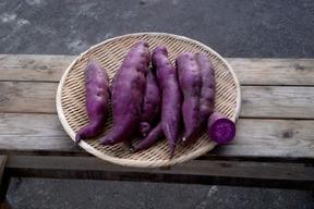 自然栽培さつまいも(パープルスイートロード)2kg