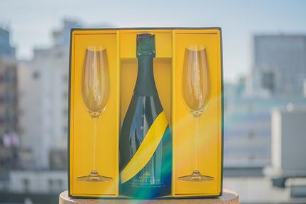 【ペアグラス付き】MIKADO LEMON Sparkling lemon sake【ギフトセット】