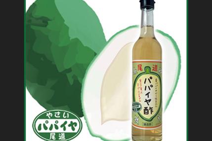 尾道パパイヤ酢500ml*1本