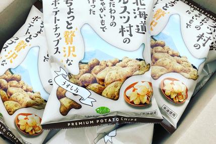 「こだわりのポテトチップス(うすしお味)」24袋