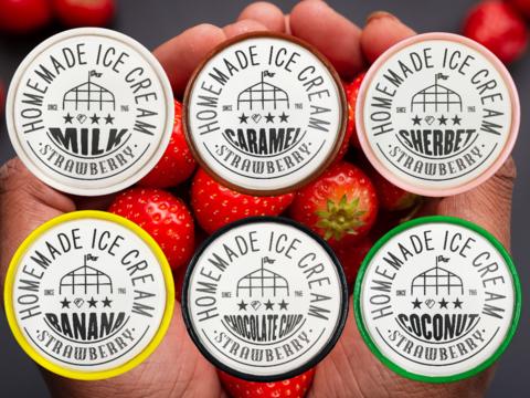 """🍓苺農家ならではの""""美味しすぎる!苺づくしのアイスクリームセット""""【6種類】【熨斗付き】"""