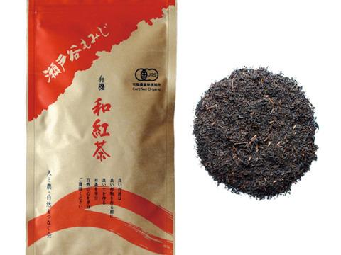 【有機栽培紅茶】瀬戸谷もみじ(100g)×3パック