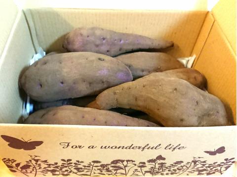 【農薬不使用】絶品!!熟成さつまいも★紅はるか★お得な大入りBOX(約4kg)