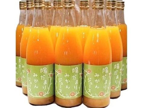 【お得な12本セット♪】陽だまりファーム  三ヶ日青島みかんジュース ストレート100%(720ml×12本)