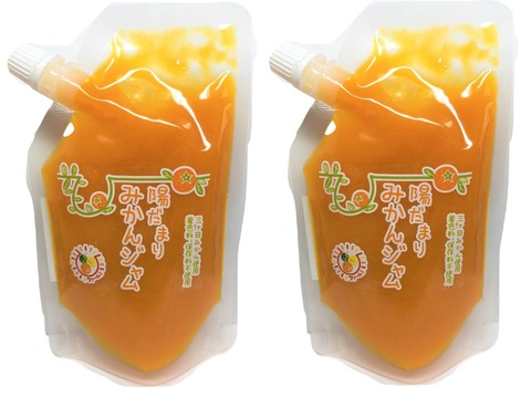 2袋セット【賞味期限間近!半額セール♪】陽だまりファーム 三ヶ日みかん ジャム 無添加 ペクチンなし 甜菜糖使用( 180g ×2袋)