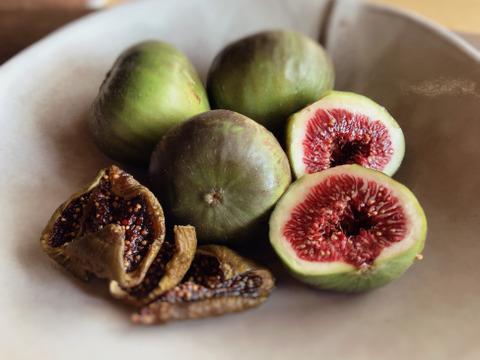 自然栽培のドライイチジク(ブリジアソットグリース) 2袋セット