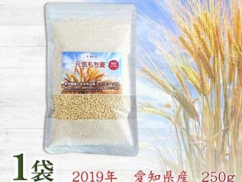 もち麦 キラリモチ お試し250g  農薬・化学肥料不使用 希少品種 愛知県産 令和元年産