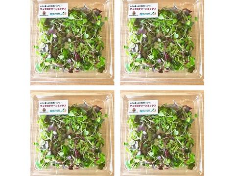 ※予約販売※マイクログリーンMIX 320g【農薬不使用土壌栽培】小さな葉っぱに栄養がたっぷり!