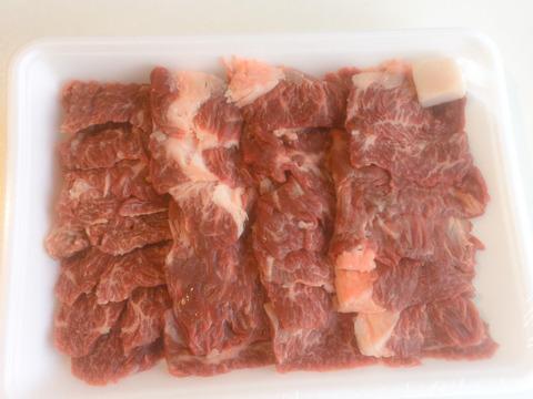 但馬牛経産牛(かねふく)のハラミ500g 円山川の牧草をたっぷり食べた但馬うしのハラミです(^^)