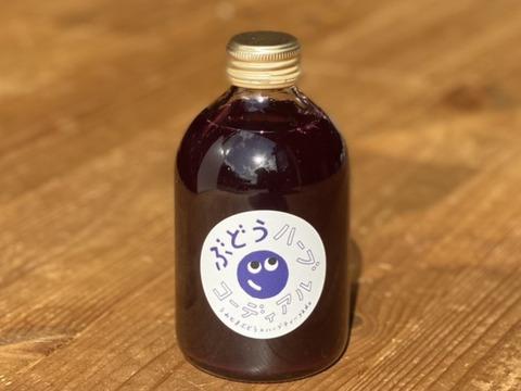 【数量限定】\黒色ミックス/ 体にも優しい!ぶどうコーディアル(濃縮シロップ) 300g