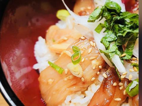 鶏刺し専門店まかない飯 漬け刺し丼 (冷凍)【単品】