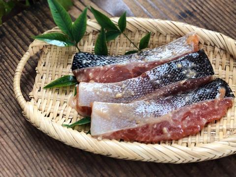 【ふっくらジューシー!】自家製虹鱒の味噌漬1パック5切入【子供が喜ぶ!】