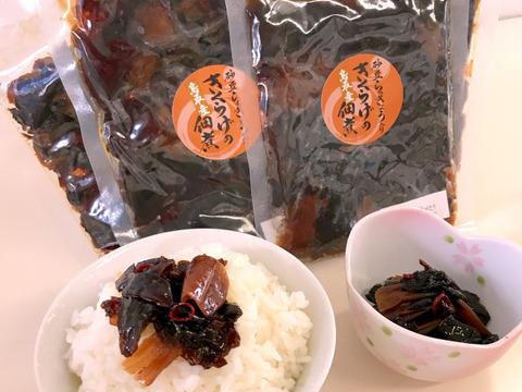 ご飯やおにぎり、酒の肴にピッタリ!「鳥取県産」きくらげの佃煮(らっきょう味)