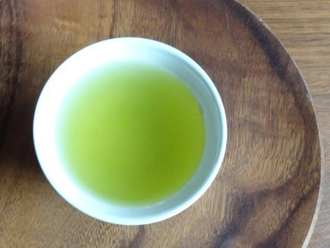 まろやか・深蒸しかぶせ緑茶!特上かぶせ茶【葉月】105g(農薬・化学肥料・除草剤不使用)