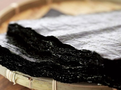 有明海産初摘み海苔「のりさん」全形30枚 アルミパッケージ