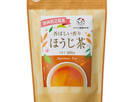 【メール便】ほうじ茶 茶葉 100g 静岡 牧之原