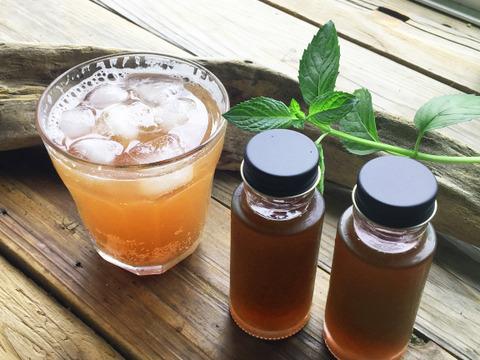 ホッとひと息温まる!濃厚Ginger Syrup 50ml 2本