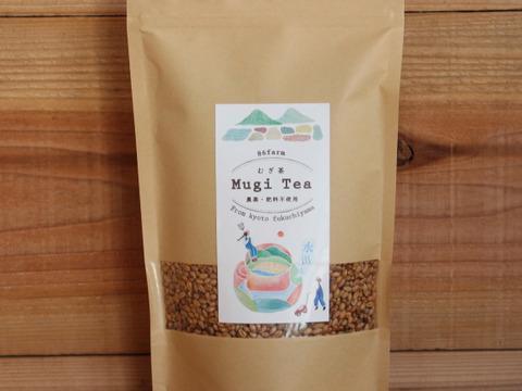 暑い日にゴクゴク!農薬・肥料不使用小麦で作った水出し麦茶(500g×2袋)