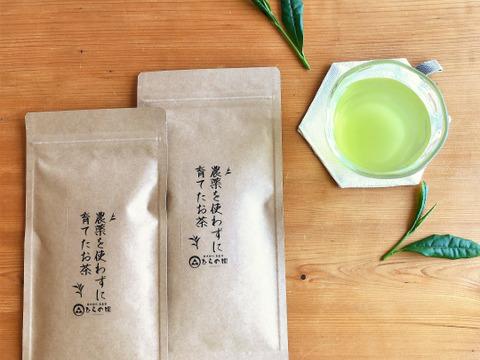 【ナチュラルな美味しさ】農薬・化学肥料不使用*茶農家の深蒸し茶50g×2袋