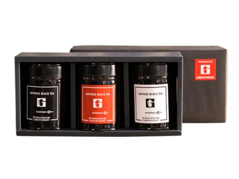 和紅茶セット 茶葉3種(缶)