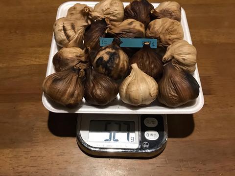 に  自然栽培 黒にんにく 大粒ぞろい たっぷり16個 良い仕上がりです 人気の黒ニンニクです 食べやすくて美味しい