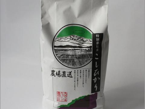 【平成30年産米】(白米)特別栽培コシヒカリ(石川県産)10kg
