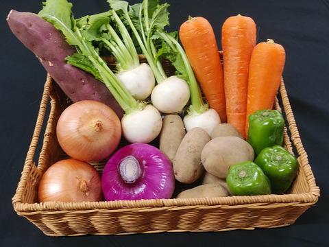 【抗酸化力に注目】オーガニック・しあわせ野菜セット(Sサイズ)