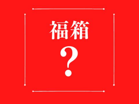 【秘密の訳あり福箱】数量限定で大特価!!